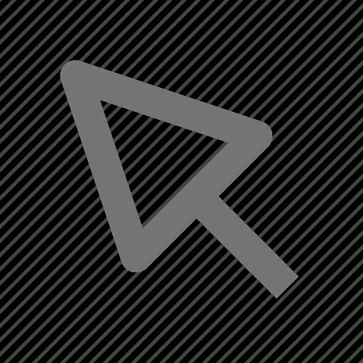 arrow, click, cursor, direction, navigation, page, pointer icon