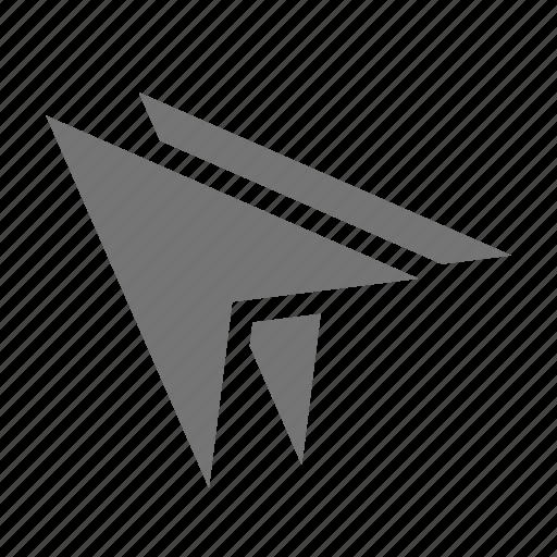 arrow, cursor, double arrow icon