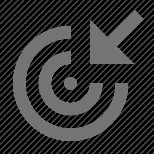 Arrow, cursor, target, move, navigation, pointer, click icon - Download on Iconfinder