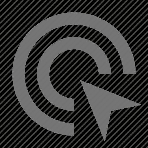 cursor, double click icon