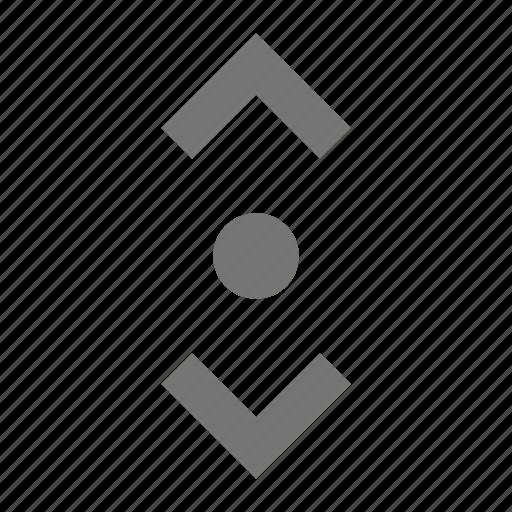 cursor, vertical icon