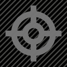 center, cursor, focus, move, navigation, pointer, target icon