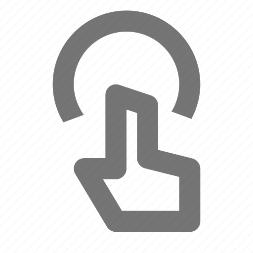 cursor, hand, touch icon