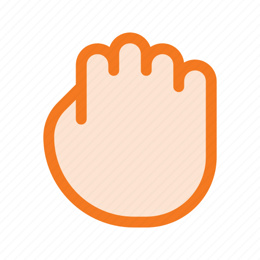 cirsor, closed, grab, hand, hold, mouse icon