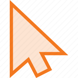 arrow, cursor, mouse, pointer, select icon