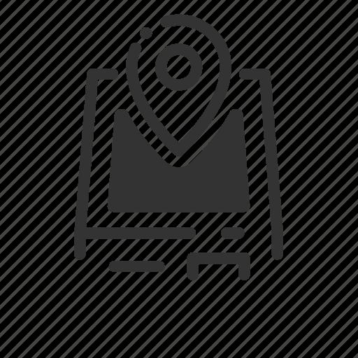 atm, kiosk, location, map, self, service, terminal icon