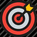 coding, internet, mobile, seo, target, web icon