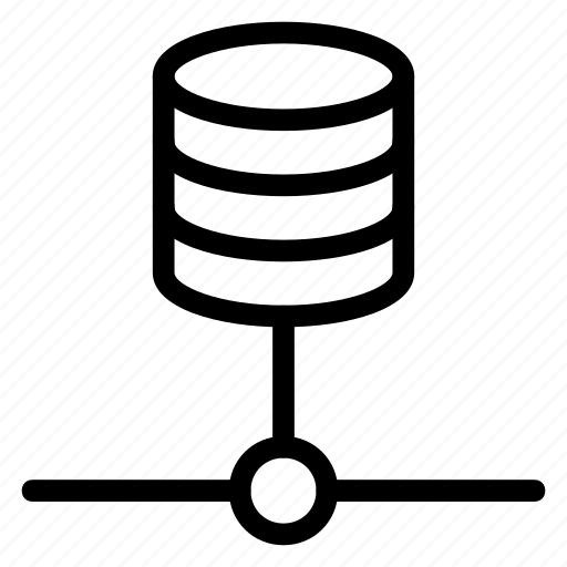 connection, data, database, hosting, network, sharing, storage icon