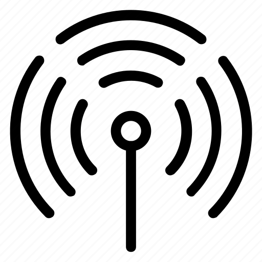 connection, internet, network, signals, wi fi, wireless icon