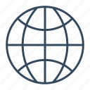 global, globe, international, seo, solution icon