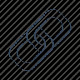 building, link, seo icon