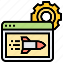 page, performance, speed, test, website icon