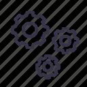 cogwheels, configuration, gear, optimization, seo, setting, tool