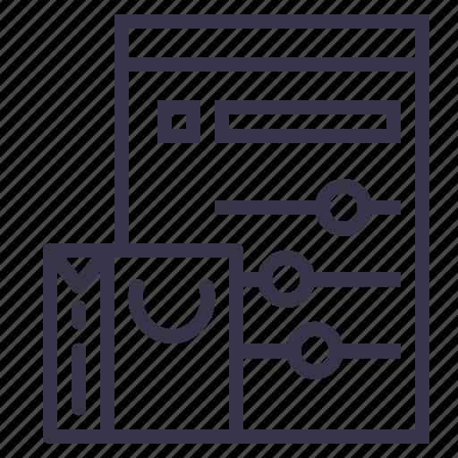 cart, online, optimization, performance, shopping, statics, window icon