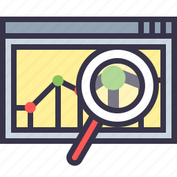 analysis, data, marketing, measure, performance, sales, statics icon