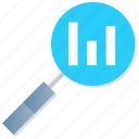 browse, chart, dashboard, find, market analysis, statistics icon
