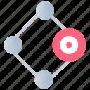 aim, focus, goal, marketing, plan, target icon