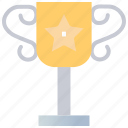 achievement, award, cup, reward, trophy icon