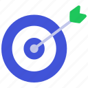 achievement, aim, game, goal, plan, target icon