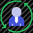 business, communication, conversation, management, process, profile, user