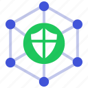 firewall, safe, secure, security, seo, shield icon