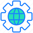 communication, connection, internet, preferences, seo, settings icon