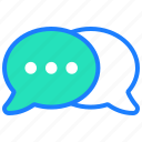 chat, chat bubble, communication, conversation, message, sales, talk