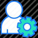 account, preferences, profile settings, seo, user, user settings icon