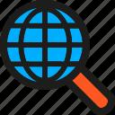 coding, global, internet, mobile, search, seo, web icon