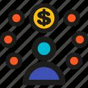 affiliate, coding, internet, marketing, mobile, seo, web icon