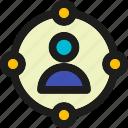 campaign, coding, internet, mobile, seo, social, web icon
