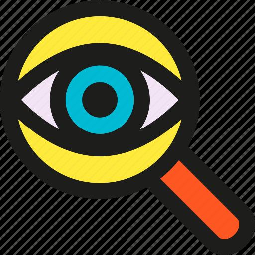 coding, internet, mobile, seo, spy, web icon