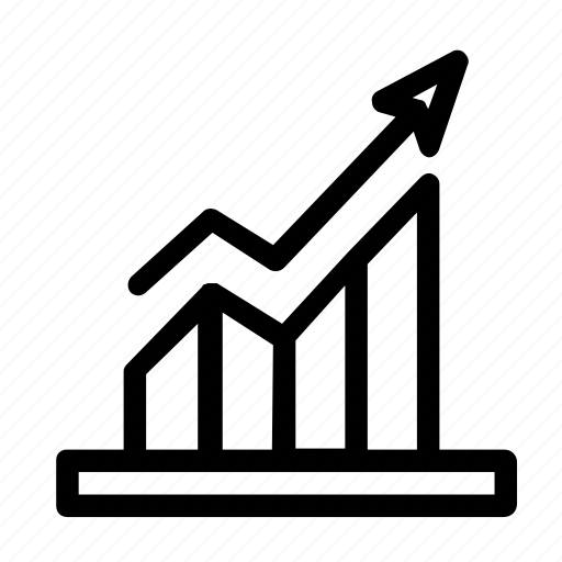 Chart, diagram, graph, growth, up icon - Download on Iconfinder