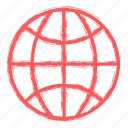 global, seo, solution icon