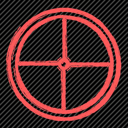 keywords, seo, target icon