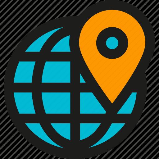 coding, geotargeting, internet, mobile, seo, web icon