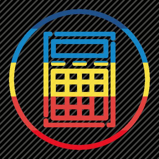 accounting, calcolator, calculator icon