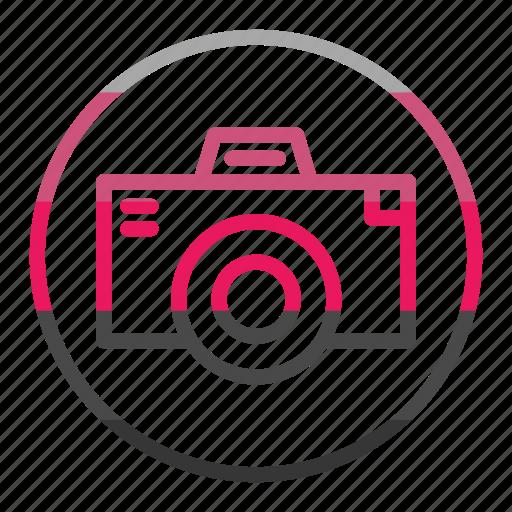 camera, photography, video icon