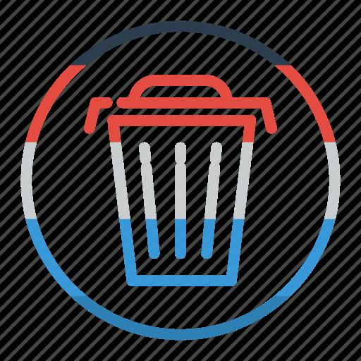 garbage, remove, trash icon