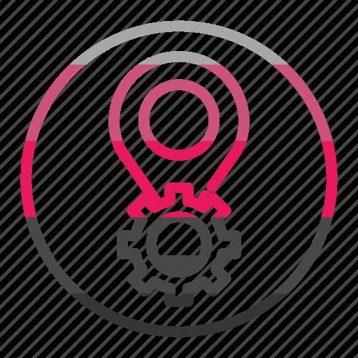 gear, setting, settings, tool icon