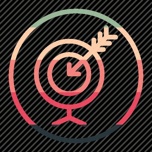 aim, arrow, goal, goalaimarrow icon