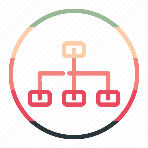 communication, connection, network, social icon