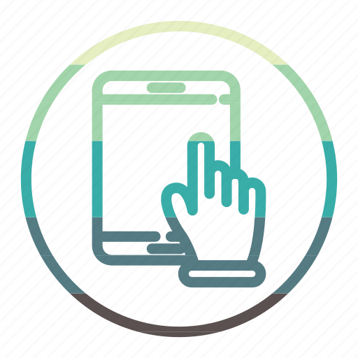 ipad, tablet, technology icon