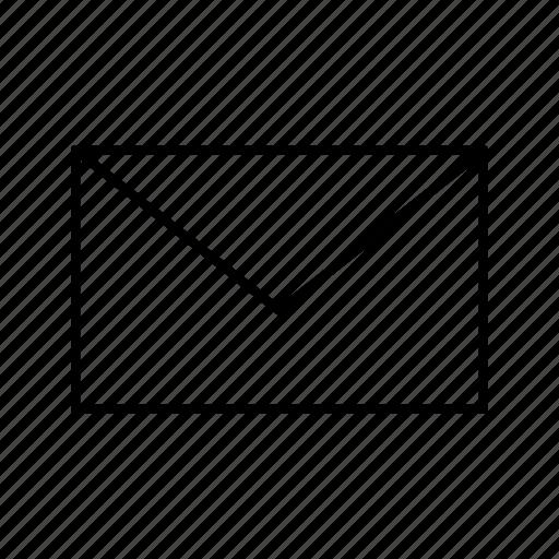 communication, envelope, inbox, mail, message icon