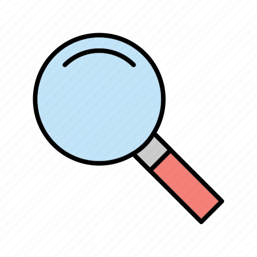 business, magnifying, search icon