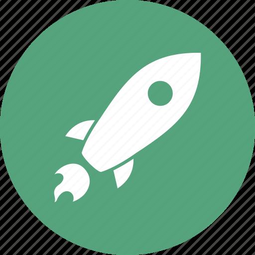 pocket, rocket, space icon