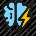 brainstorm, coding, internet, mobile, seo, web icon