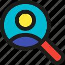 coding, internet, mobile, search, seo, user, web icon
