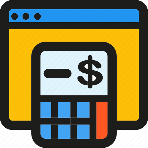 budget, coding, internet, mobile, seo, web icon
