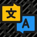 coding, internet, mobile, seo, translate, web icon